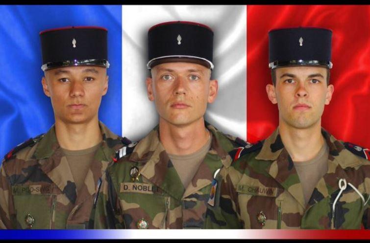 Trois soldats français tués au Mali-avril 2016