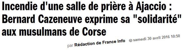 Les musulmans de Corse-30.04.2016
