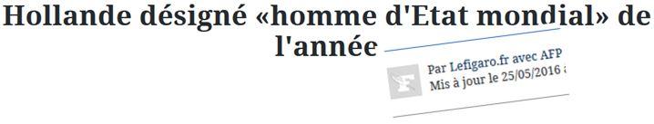 Hollande homme d'état mondial de l'année-25.05.2016JPG