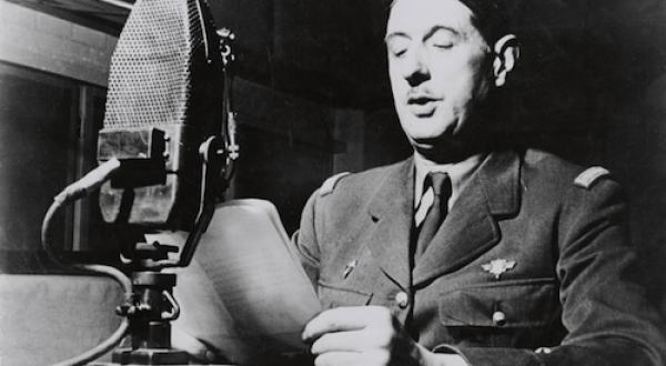 De Gaulle 18 juin 1940 Londres