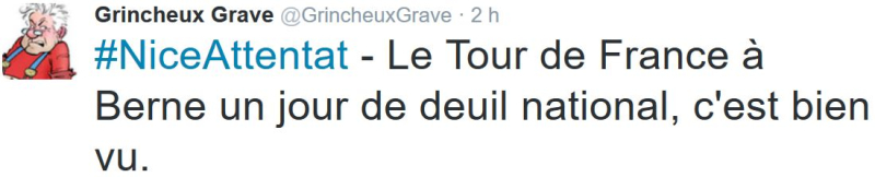 TWEET GG-Tour de France à Berne-18.07.2016