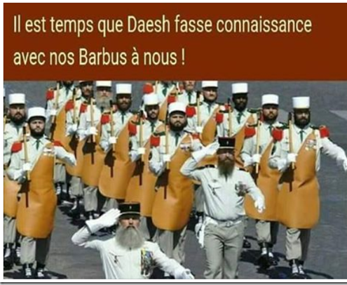Légion étrangère - nos barbus à nous