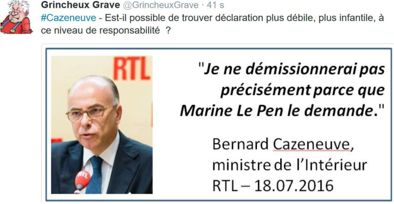 TWEET-Cazeneuve-démission-RTL-18.07.2016