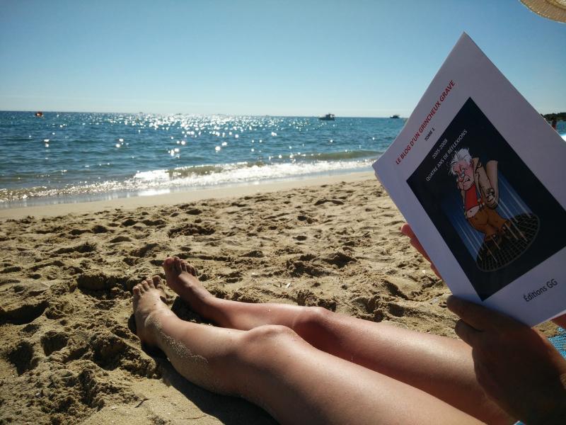 Livre GG Tome 1 à la plage