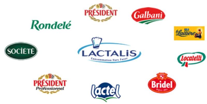 Lactalis-logos produits laitiers