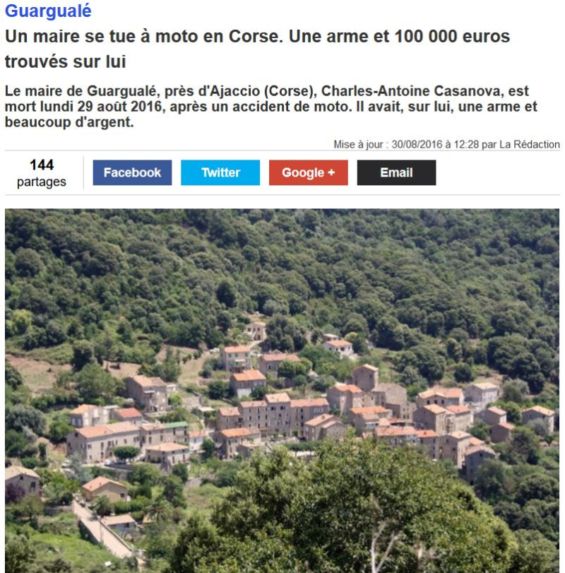 Maire de Guargualé en Corse-29.08.2016