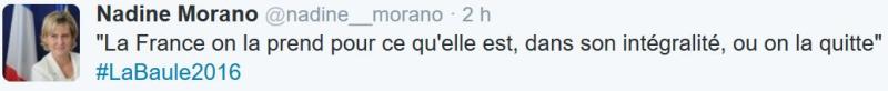 Nadine Morano-La Baule-03.09.2016