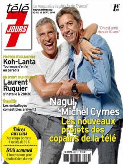 Michel Cymes-Télé 7j-10.09.2016