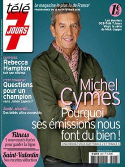 Michel Cymes-Télé 7j-13.02.2016