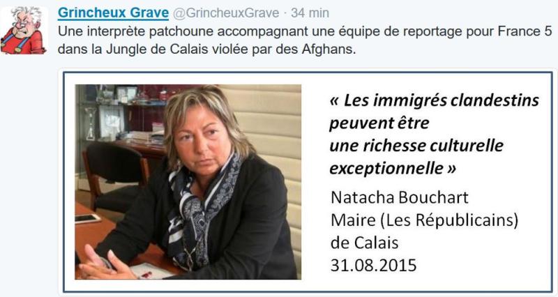 Une interprèete patchoune violée dans la Jungle de Calais-18.10.2016