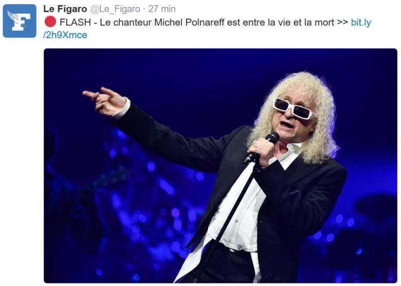 Michel Polnareff entre la vie et la mort-05.12.2016