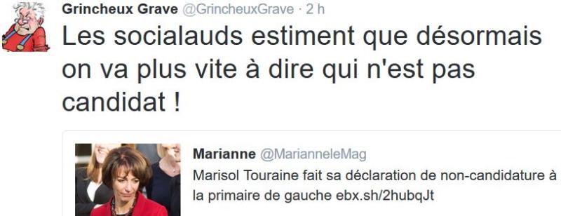 TWEET GG-Marisol Touraine pas candidate-10.12.2016