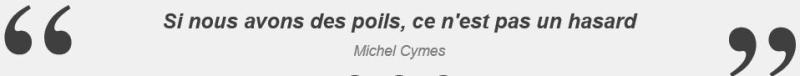 Michel Cymes-si nous avons des poils-RTL-25.01.2017