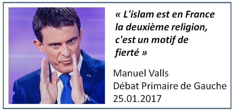 TWEET-Valls-Islam deuxième religion-25.01.2017