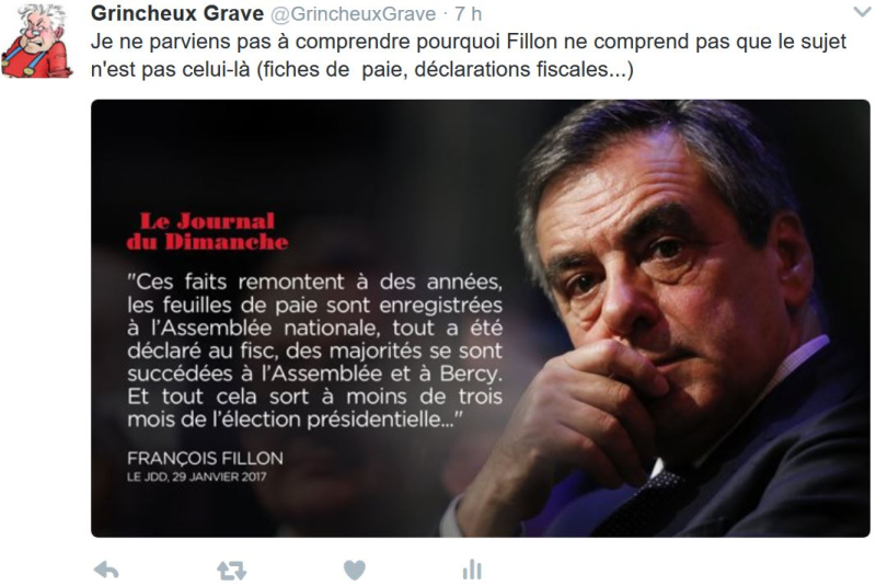 TWEET GG- Fillon hors sujet-29.01.2017