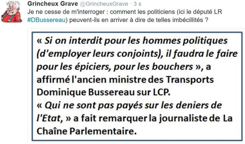 TWEET GG-sur Dominique Bussereau-30.01.2017