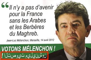 Mélenchon et le Maghreb