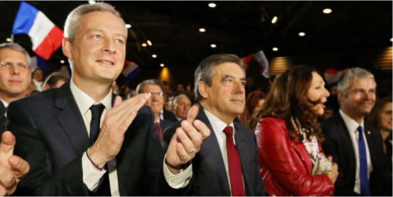 Le Maire et Fillon-Lyon-22.11.2016