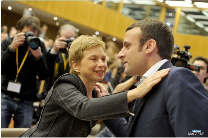 Parisot aime Macron