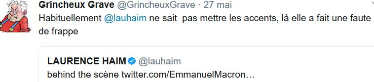 TWEET GG-Laurence Haïm-28.05.2017