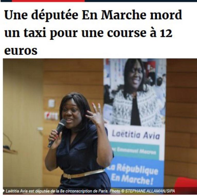Laëtitia Avia députée En Marche