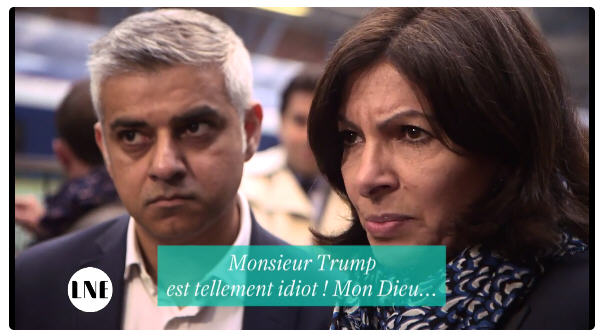 Anne Hidalgo-Mister Trump is so stupid-London-10.05.2017