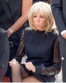 BIS-Brigitte Macron aux obsèques de Simone Veil-juillet 2017-gros plan