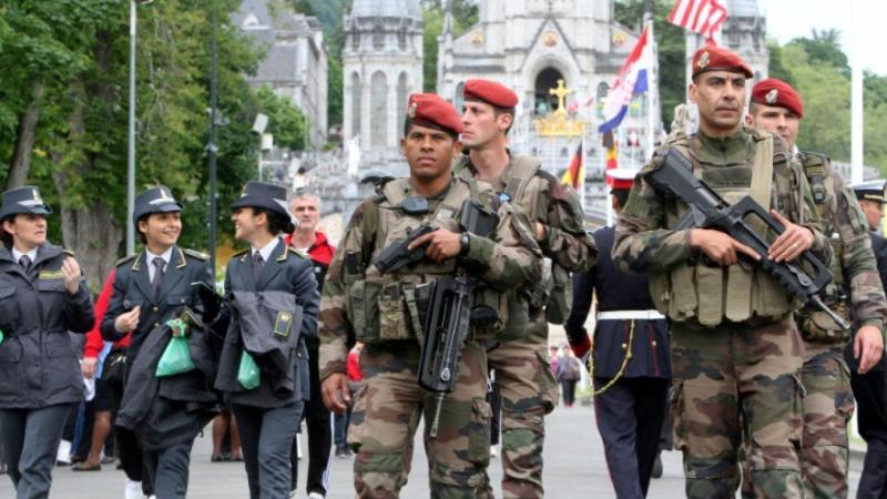Assomption 2017 à Lourdes