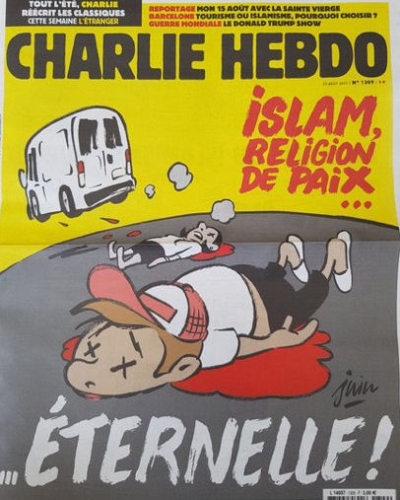 Charlie Hebdo 23.08.2017