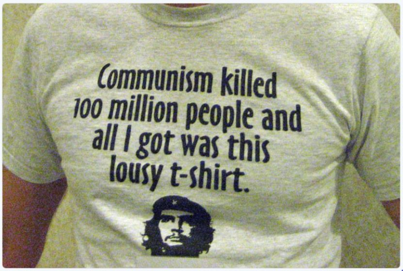 Communism killed 100 million people teeshirt
