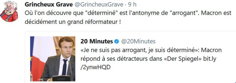 Macron-Je ne suis pas arrogant