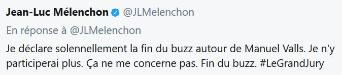 Jean-Luc Mélenchon-fin du buzz-15.10.2017