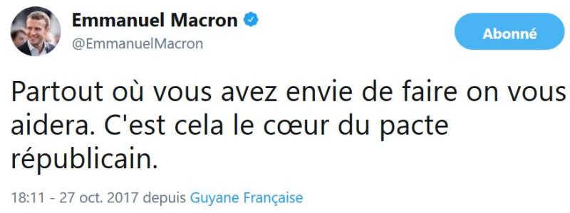 Macron - partout où vous avez envie de faire-27.10.2017