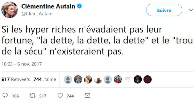 Clémentine Autain-06.11.2017