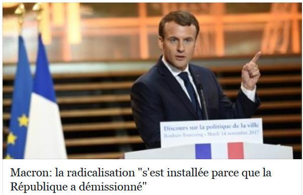Macron-la République a démissionné-Tourcoing-14.11.2017
