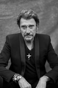 Johnny Hallyday - sa croix