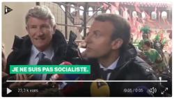 Macron - L'honnêteté m'oblige à vous dire que je ne suis pas socialiste
