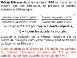 Göran Nilsson sur la vitesse et l'accidentologie