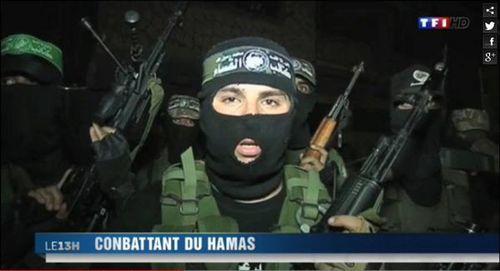 TF1 conbattant du hamas