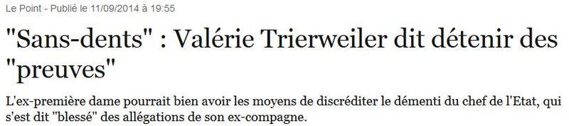 Sans-dents-Trierweiler dit détenir des preuves.-11.09.2014JPG