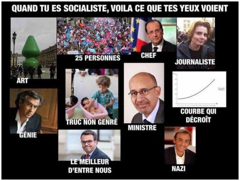 Ce que tes yeux socialistes voient