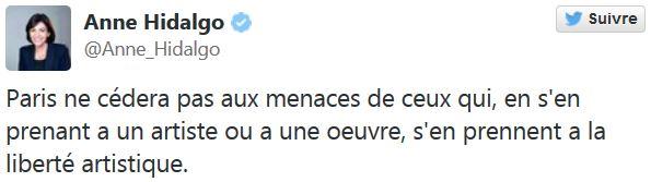 Anne Hidalgo - Plug anal Place Vendôme - Paris ne cèdera pas