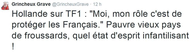 TWEET-Hollande-TF1-06.11.2014-2