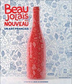 Beaujolais nouveau un art français - 2014