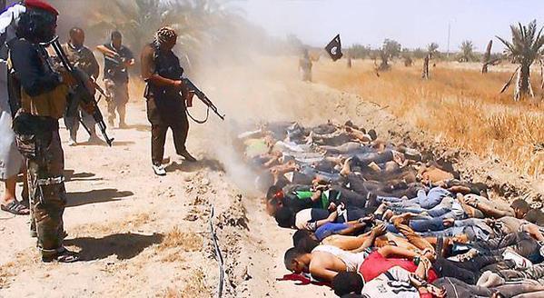DAECH en Syrie-Iraq - assassinat de prisonniers - octobre 2014