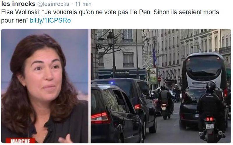 Elsa Wolinski - Vote Le Pen
