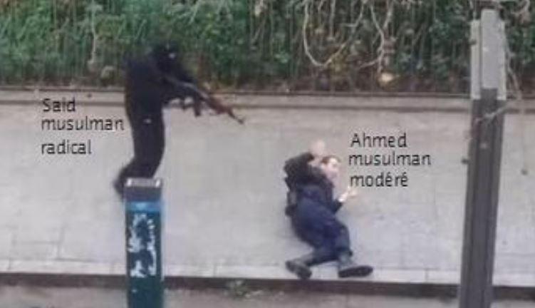 Musulman radical vs musulman modéré