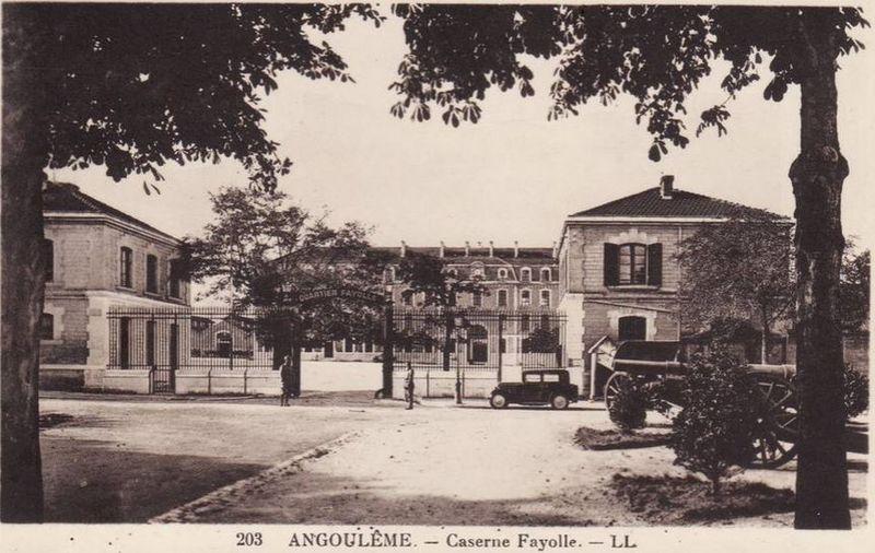 Angoulême - caserne Fayolle