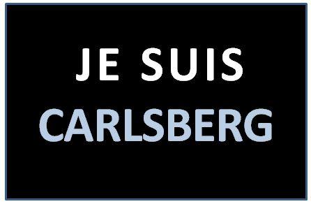 JE SUIS CARLSBERG