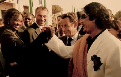 Rama Yade - Sarkozy - Kadhafi